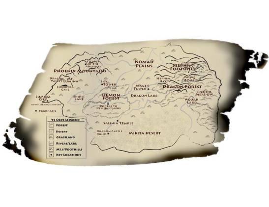 Dragonia-Map